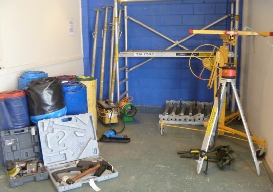 Scaffold, Planks, Trestles & Props | Equipment Hire Hastings | Bay 2